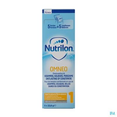 Nutrilon Omneo 1 Melk Zuig.melk Pdr Trialpack5x23g