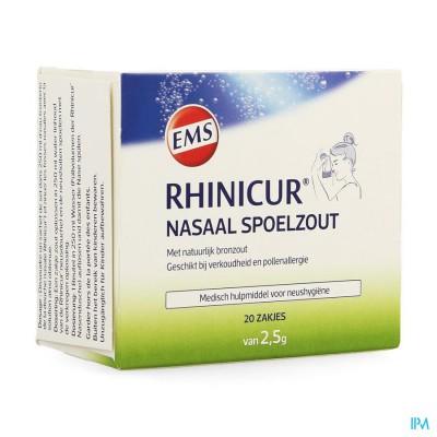 Rhinicur Nasaal Spoelzout Zakje 20x2,5g