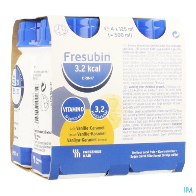 Fresubin 3,2 Kcal Drink 125ml Vanillecaramel