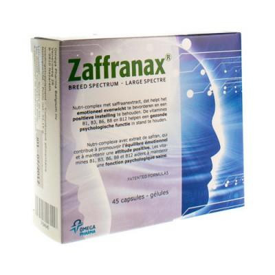ZAFFRANAX CAPS 45
