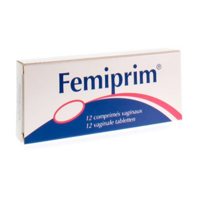 FEMIPRIM COMP VAGINAUX 12X250MG