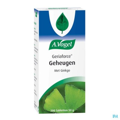 A.Vogel Geriaforce 200 tabletten