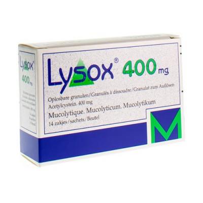 LYSOX GRAN SACH 14X400MG