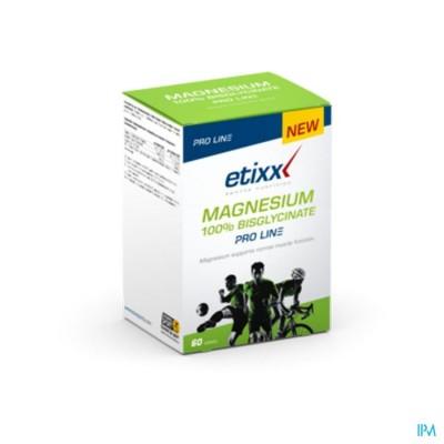 Etixx Magnesium 100% Bisglycinate Pro Line Comp 60