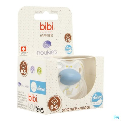 Bibi Sucette Hp Dental Noukie Bao&wapi 0- 6m