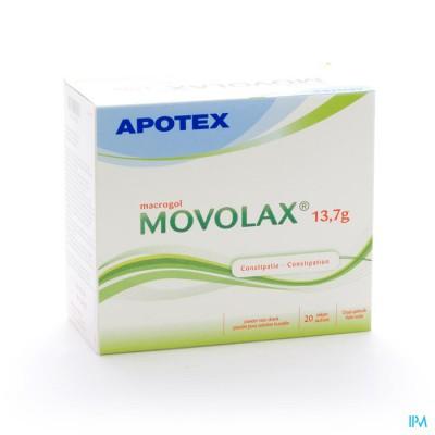 Movolax 13,7 Pulv Susp Sach 20