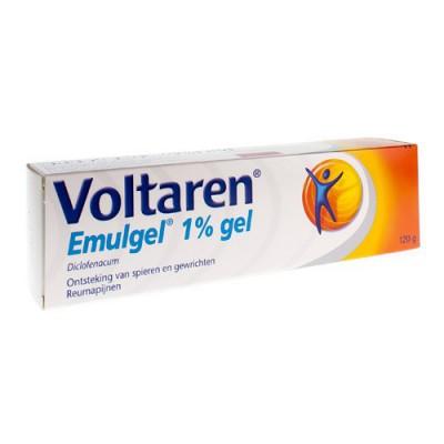 VOLTAREN EMULGEL 1 % GEL 120 G LAMINAATTUBE
