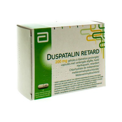 DUSPATALIN RETARD 200 CAPS 60X200MG