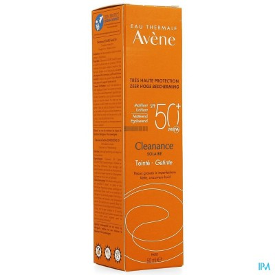 Avene Zon Ip50+ Cleanance Solaire Getint 50ml