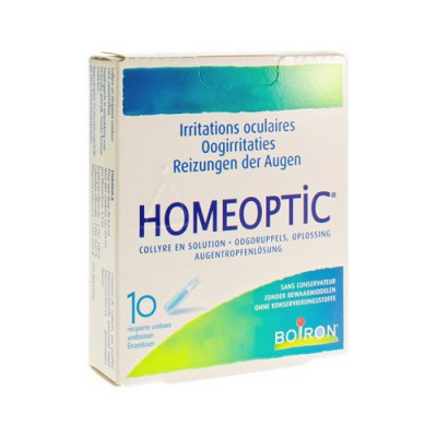 HOMEOPTIC UNIDOSES 10 X 0,4ML BOIRON