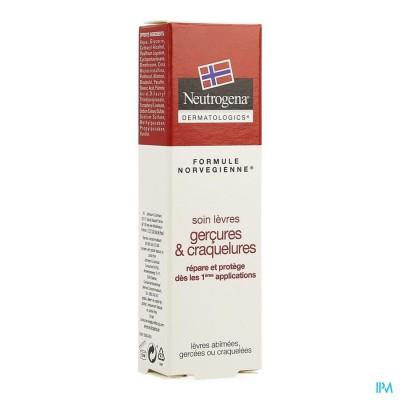 Neutrogena N/f Gekloofde/gebarste Lippen Tube 15ml