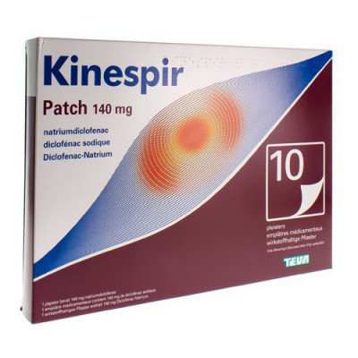 KINESPIR PATCH 140 MG EMPLATRES 10