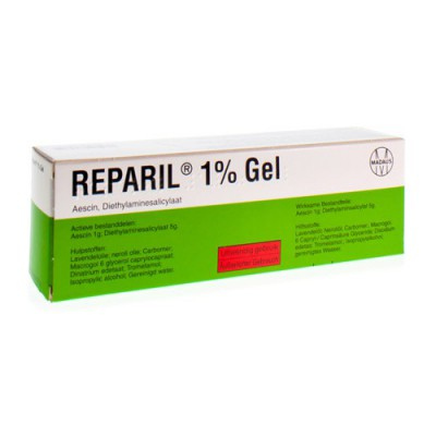 REPARIL GEL 1% 100 G