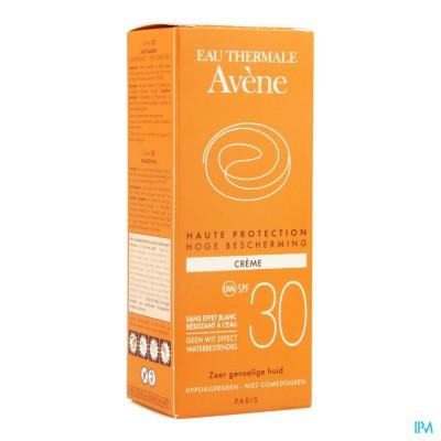 Avene Zon Creme Ip30 Z/parabeen 50ml