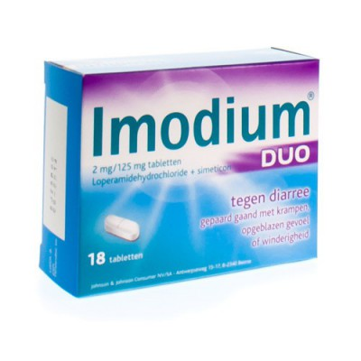 IMODIUM DUO TABL 18