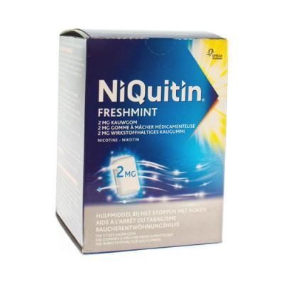 NIQUITIN 2,0 MG MUNT KAUWGOM 100