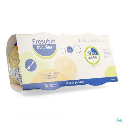 Fresubin Db Creme Abricot-peche Pot 4x125g