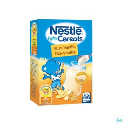Nestle Baby Cereals Rijst-vanille 250g