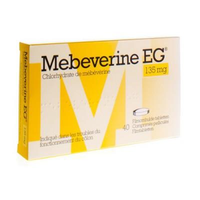MEBEVERINE EG 135 MG FILMOMH TABL 40 X 135 MG