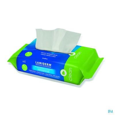 Lamiderm Lingettes Biodegradables 60