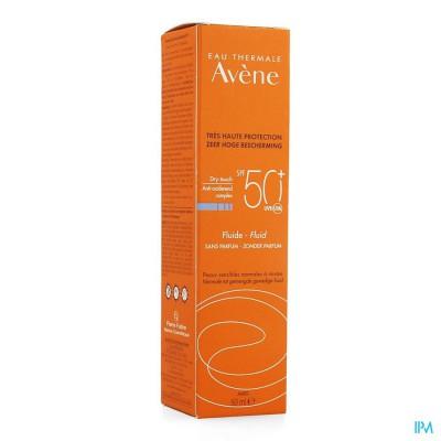 Avene Zonne Fluide Ip50+ S/parfum 50ml