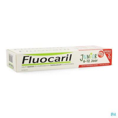 Fluocaril Junior Rood Fruit 75ml