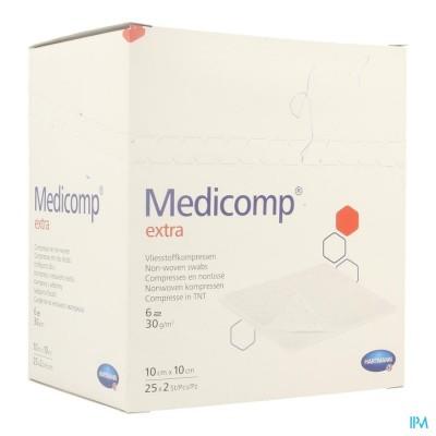 Medicomp 10x10cm 6pl. St. 25x2 P/s