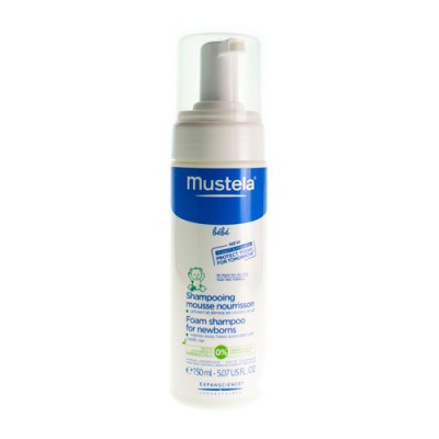 MUSTELA BB SH MOUSSE NOURRISSON FL DOSEUR 150ML