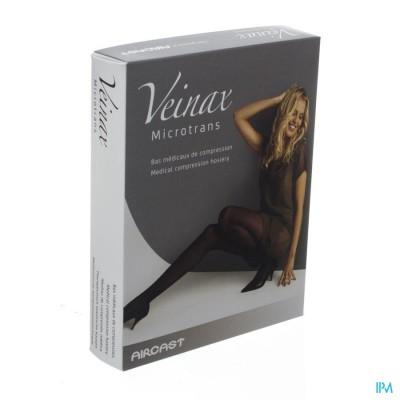 Veinax Kniekous Microfibre 2 Lang Zwart Maat 4