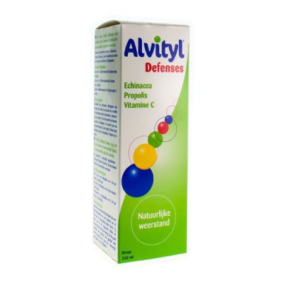 ALVITYL DEFENSE SIROP FL 240ML