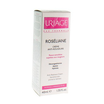 URIAGE ROSELIANE CREME ANTI ROUGEURS TUBE 40ML