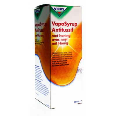 VICKS VAPOSYRUP ANTITUSSIF MIEL 180ML