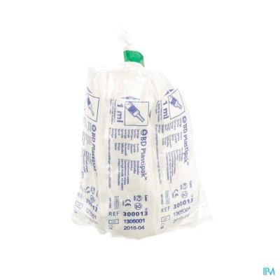 Bd Plastipak Seringue Luer Tuberc. 1ml 10 303172
