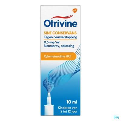 Otrivine Sine Conserv. 0,05% Spray 10ml