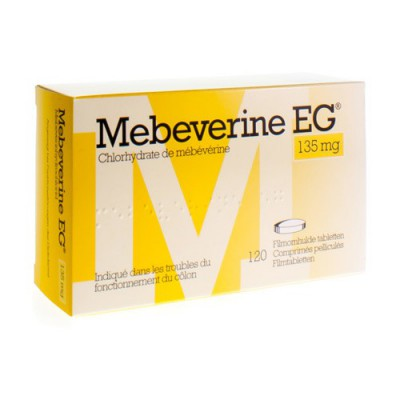 MEBEVERINE EG 135 MG COMP PELL 120 X 135 MG
