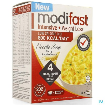 MODIFAST INTENSIVE NOODLE SOUP CURRY 220G