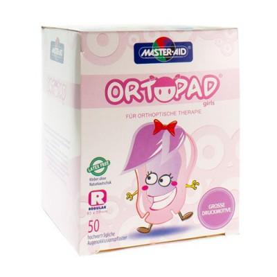 ORTOPAD REGULAR FOR GIRLS COMPRESSE OCUL. 50 73224