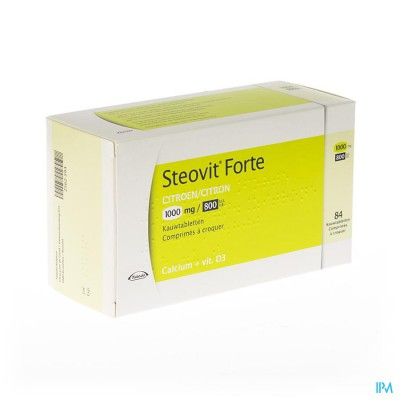 Steovit Forte 1000mg/800ui Comp Croq 84