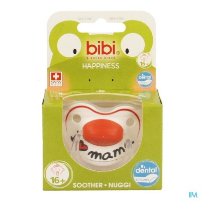 Bibi Sucette Hp Dental I Love Mama +16m