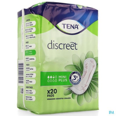 TENA DISCREET MINI PLUS 20