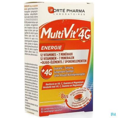 Multivit' 4g Energie Comp 30
