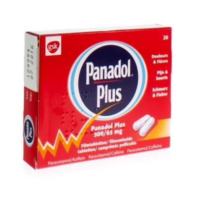PANADOL PLUS COMP PELL 20