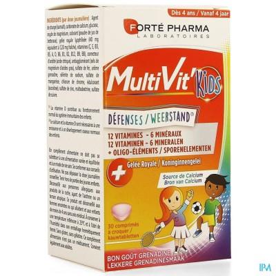 Multivit' 4g Kids Comp 30