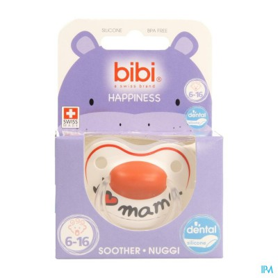 Bibi Sucette Hp Dental I Love Mama 6-16m