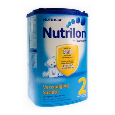 NUTRILON 2 LAIT DE SUITE SATIETE EAZYPACK 800G