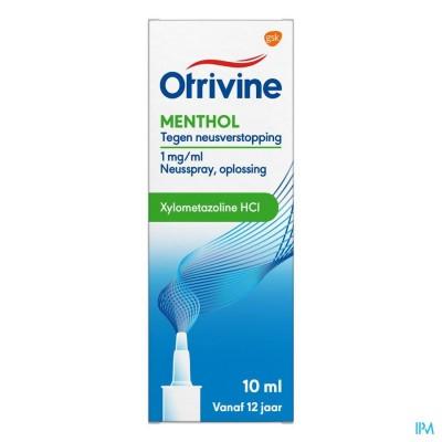 Otrivine Menthol Microdos 10ml