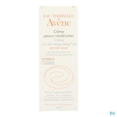 Avene Rijke Crème voor de overgevoelige huid Nf 50ml