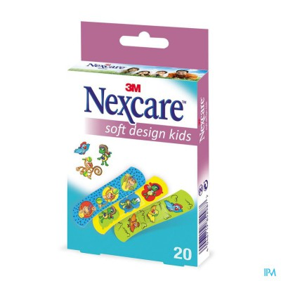 NEXCARE 3M SOFT DESIGN KIDS ASSORT.20