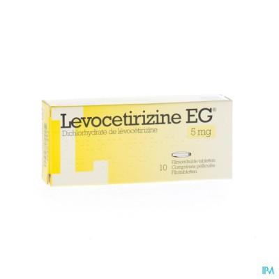 LEVOCETIRIZINE EG 5 MG FILMOMH TABL 10