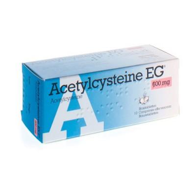 ACETYLCYSTEINE EG 600MG COMP EFF 10X600MG